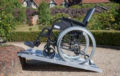 mejores rampas de acceso para sillas de ruedas